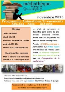 1Programme Médiathèque Quingey nov déc 2015 (1)