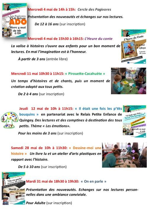Programme Médiathèque Quingey mai 2016p2